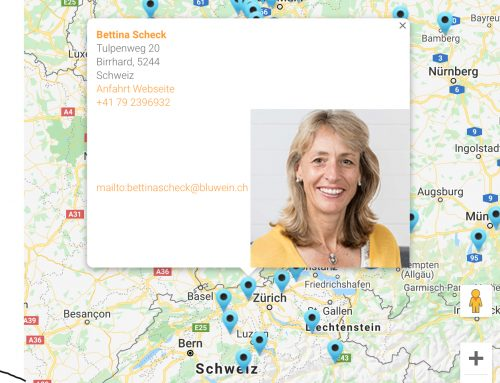 Viele Persönlichkeiten – eine gemeinsame Richtung: Karte der Inspirationscoaches!
